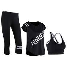 Online Shop Yoga Set Apparel Women <b>Sport Bra Fitness Running</b> ...
