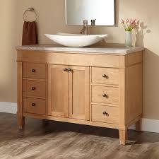 marilla vessel sink vanity  bathroom