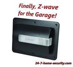 a z wave garage door opener conversion and iris z wave garage door controller