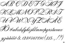 fonts bank script