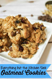 Everything But The Kitchen Sink Oatmeal Cookies A Moms Take