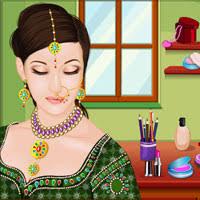 free flash games indian wedding makeup game games2dress