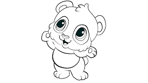 pooh bear coloring book page baby pages funny colo