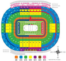 Ny Giants Seating Chart With Rows Seating Map Of The Big House Seating Charts Belfast