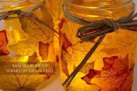 Fall Table Decorations With Mason Jars Autumn Leaf Mason Jar Candle Holder 54