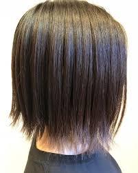 切りっぱなしのヘアスタイル25選くせ毛を生かした髪型や黒髪も Belcy