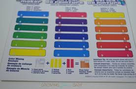 Crayola Paint Maker Set Color Key Growing Your Baby
