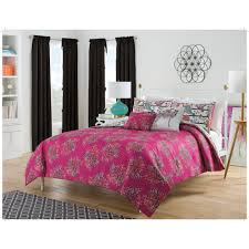 harmony at home flower power piece reversible bedding comforter
