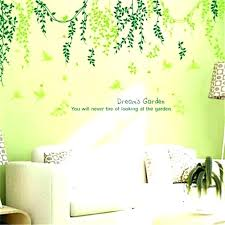 lime green wall art lime green wall decor green wall decor plant modern wall sticker green