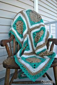 Free Crochet Afghan Patterns Mesmerizing Sand And Surf Throw Free Crochet Afghan Pattern Cre48tion Crochet