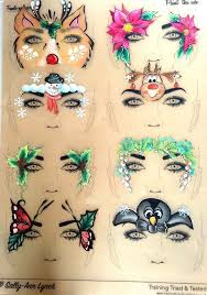 image result for tag practice sheets facepainting