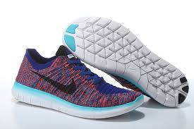 nike running shoes flyknit 2016. 2016 new nike free flyknit 5.0 bright red blue black mens shoe running shoes