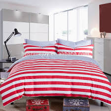 duvet covers 33 lovely red and white striped bedding stripe sets whole set suppliers alibaba pretty