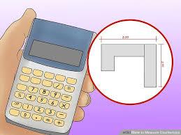 measure countertops countertop square footage calculator cute white granite countertops