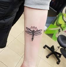 Dragonfly Tattoo By Roman Hope All Well Skin City Meraki فيسبوك