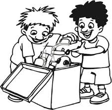 pick up toys clipart black and white. Interesting White Boy Picking Up Toys Clipart 1945306 To Pick Black And White
