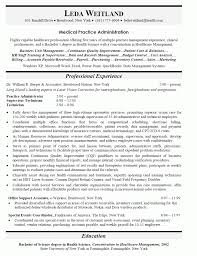 Template Hospital Administrator Resume Example For Human Resources