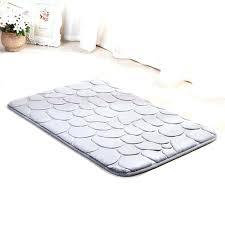 large memory foam rug bathroom mat sized