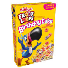 kellogg s froot loops cereal birthday cake