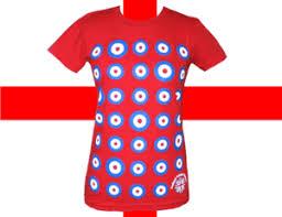 Mod Target Red Girls T Shirt