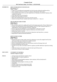 Sample Dispatcher Resume Service Dispatcher Resume Samples Velvet Jobs 3