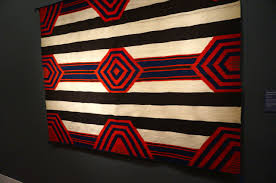 Navajo Rugs at the DeYoung