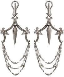 pre owned at truefacet stephen webster 925 sterling silver superstud large chandelier earrings