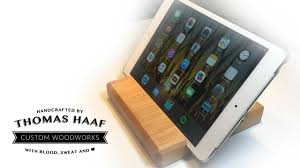 how to make a simple diy wooden two way ipad tablet stand from s wood first ever