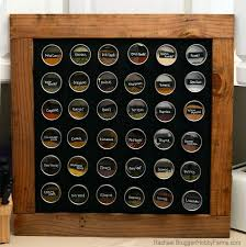 How To Build A Spice Rack Classy DIY Framed Chalkboard Bonus Spice Rack Hobby Farms