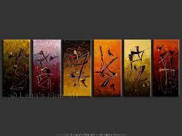 abstract art zen painting six seasons wisdom