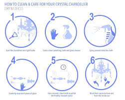 how to clean a chandelier how to clean and care for your crystal chandelier dry method