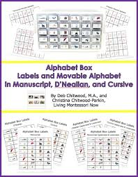 Alphabet Box Labels and Movable Alphabet 796x1024