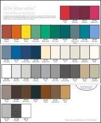 Rowmark Ada Alternative Color Chart Rowmark Ada Alternative Swatch Page Random Swatch Bar