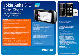 Nokia Asha 310 Data Sheet
