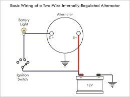 alternator exciter wiring diagram 1979 chevy alternator wiring alternator wiring diagram internal regulator at Alternator Connections Diagram