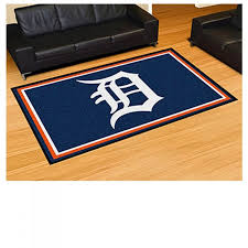detroit tigers 5 x 8 rug