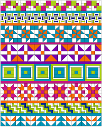 Free Pattern! The AQS QuiltWeek Row Quilt – AQS Blog & row-quilt-spacers Adamdwight.com
