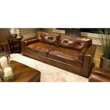 enchanting rustic leather sofa with soho top grain leather sofa in rustic free today