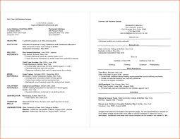 Resume Samples Uva Career Center Job Examples 2014 Resume Sydney T