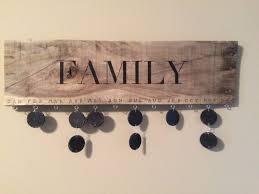 family birthday calendar 16 inspirational handmade pallet wood wall decor