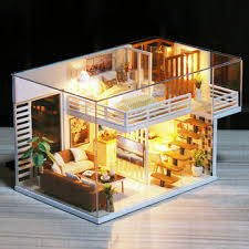 <b>diy doll house furnitures</b> miniature doll house dust cover wooden ...