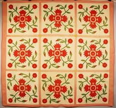 21 best rose of sharon quilt images on Pinterest | Appliques ... & Middle Tennessee quilt, Rose of Sharon or Whig Rose Adamdwight.com
