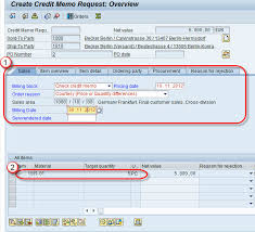 Debit Memo Sample Awesome How To Create Credit Memo In SAP