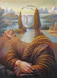 saatchi art landscape in the italian style mona lisa painting by oleg shupliak