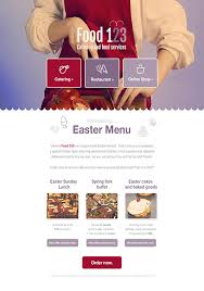 Newsletter Templates Pages Food And Restaurants Newsletter Templates Email Marketing Gr