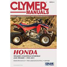 amazon com 99 08 honda trx400ex clymer service manual automotive 2000 Honda 400Ex Wiring-Diagram at 01 Honda 400ex Colored Wiring Diagram