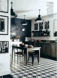 black and white kitchen tiles floor black and white concrete tile floor designs cement black white