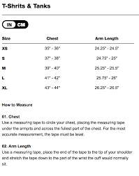 Ips Size Chart Size Chart Detroit Wiremen