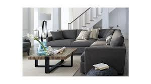 enticing axis sofa crate and barrel reviews energywarden