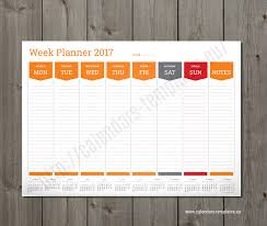 planning calendar template 2018 weekly planner template 2018 a3 a2 a1 size pdf format